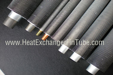 China B338 Gr. 2 SMLS Titanium Tube , Spiral Aluminum Extruded Fin Tube 1.245mmWT supplier
