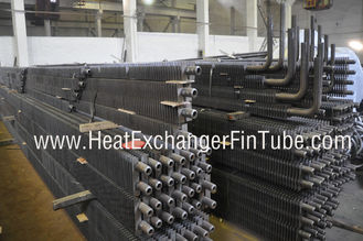 China BS3059 PT 1/ 2 OD 2'' HH Fins Marine Boiler Square Fin Tube with 90 Degree Bends supplier