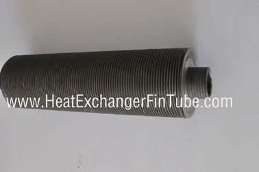 China Tension wound type L- knurled(KL) aluminum fin Cooling tube, OD1''X14bwg supplier
