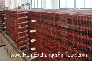 A192 SMLS Carbon Steel H Fin Bolier Square Fin Tube of  Waste Heat Recovery Unit