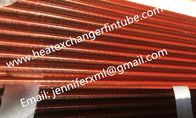 China Tension Wound Single Row Flat Fin Tube For Air Cooled Condenser factory