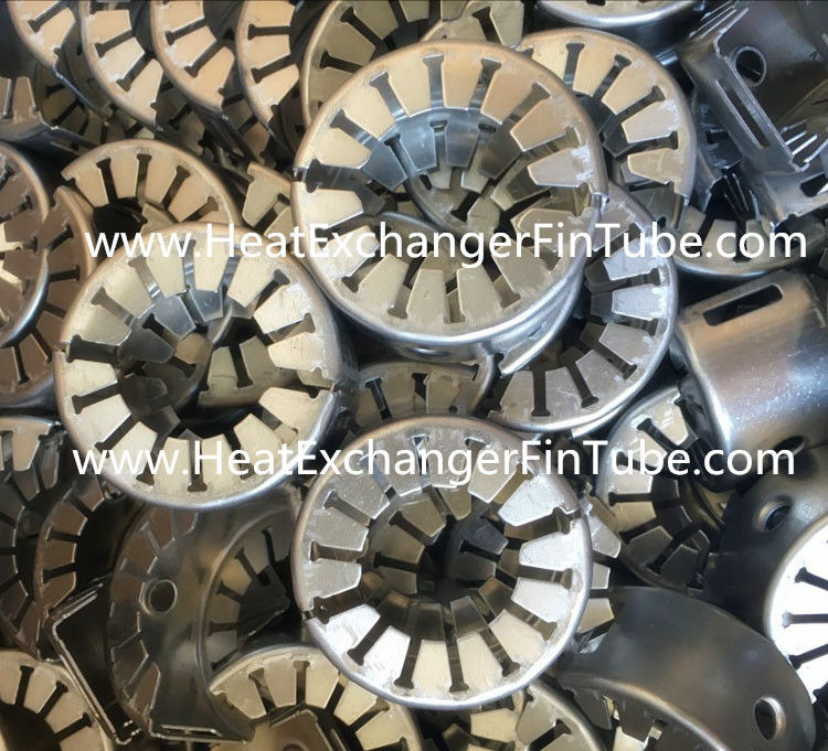 Embedded Fin Tube Machine Circular Spacer Boxes Od 25