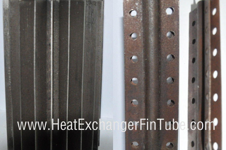 Welded Perforated Longitudinal Finned Tubes Of Tp304