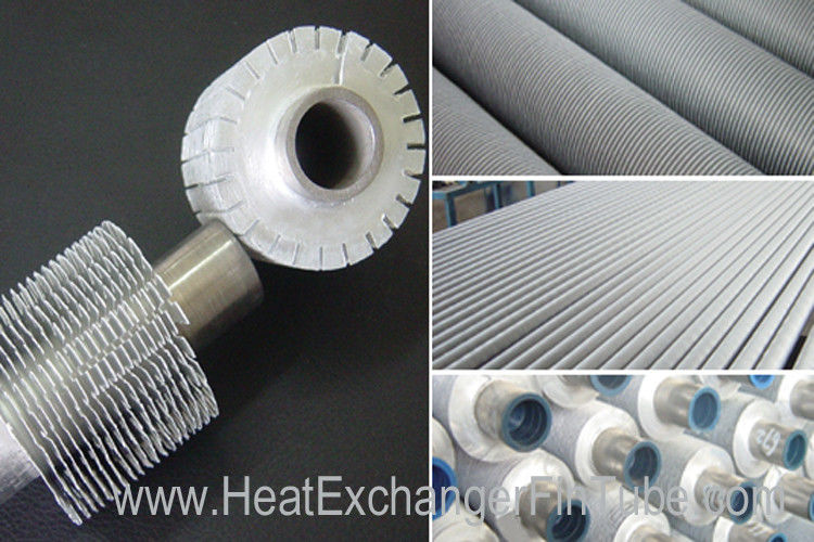 serrated extruded heat exchanger aluminum fin tube   a179
