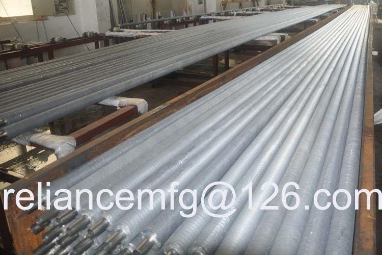 OD2'' ,P235GH TC1/2 Solid seamless boiler / aluminum air