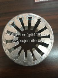 China Galvanized Steel Sheet Spacer Rings For Extruded / Embedded Fin Tube distributor
