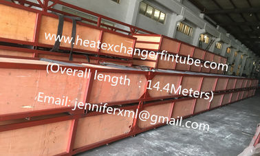 China Carbon Steel / Aluminum L/LL/KL Type Fin Tube 14000mm Tube Overall Length distributor