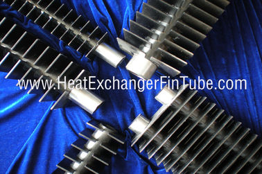 China SA210 Gr. A1 Seamless Carbon Steel Rectangular  Double H welding Fin Tube for Economizer distributor