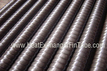 China SMLS Carbon Steel Corrugated Slot Heat Exchanger Low Fin Tube A106 / A179 / A192 / A210 distributor