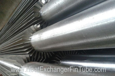 China P235GH TC1/2 SMLS HF Welded Steel Standard Longitudinal Finned Tubes FOR Gas cooler distributor