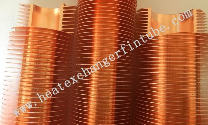 Air Cooler Aluminum 6063 Extruded Fin Tube With Free Middle Ends
